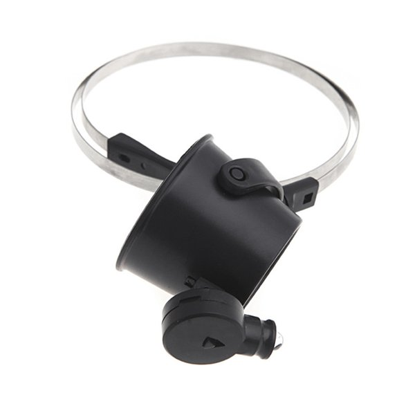 Magnifying Glasses 15X Led Lighted LED Light Head Strap Repair Loupe Magnifier Eye Glasses Jewelry Watch Repairing Tools