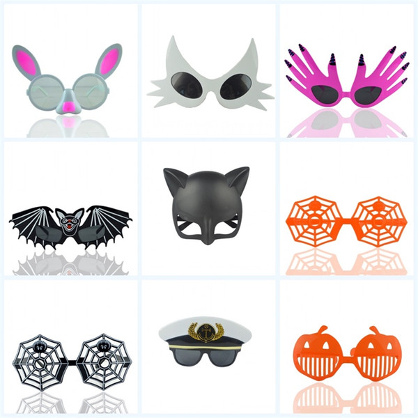 Holiday Party Funny Sunglasses Cartoon Halloween With Various Styles Fashion Brand Design Glasses Christmas Kids Gift Eyewear Mask 5cr jj