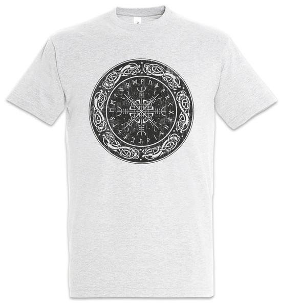 Viking Shield II Damen T-Shirt Valhalla Vikings Odin Loki Thor Norsemen Ragnar