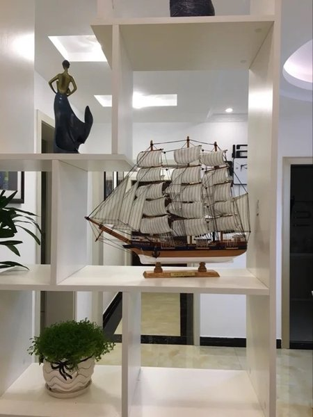 Ship Model Mediterranean Plain Sailing Simulation Ship Model Boat Laying Crafts Birthday Housewarming Graduation Gift Best Wooden Model Ship Kits Us