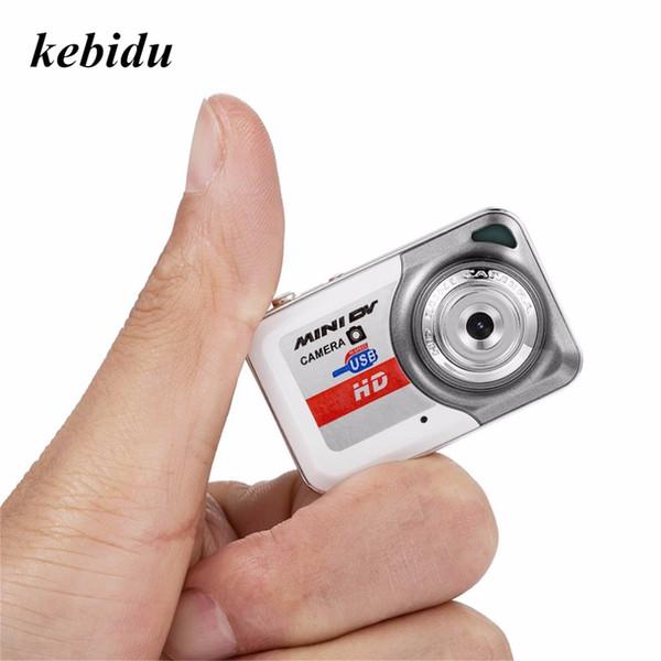 kebidu HD 1280*1024 Ultra Portable Mini Camera Video Recorder Digital Small Cam Support TF Card Micro Secure Digital Memory Card