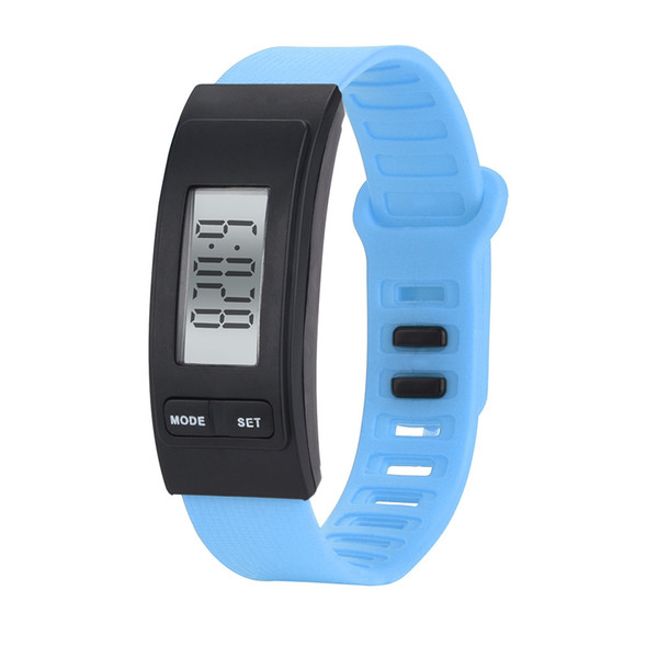 OTOKY Fashion Children Man Women Run Step Watch Bracelet Pedometer Calorie Counter Digital LCD Walking Distance BY30 DT