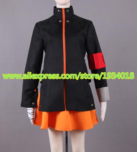 Anime novo o ultimo naruto moda uzumaki naruto trajes cosplay