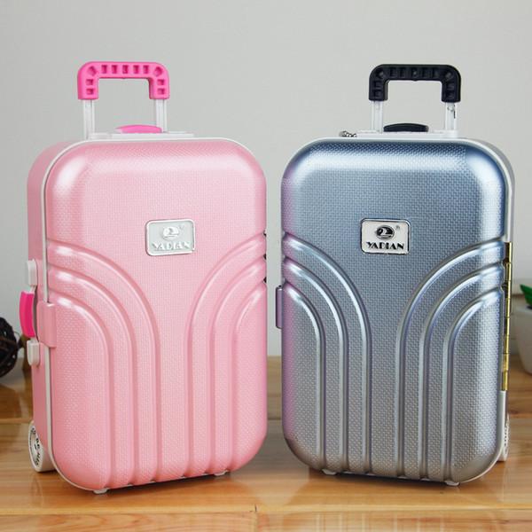 Yaratıcı Müzik Mücevher Kutusu bagaj arabası bavul şeker renk kutusu doğum günü hediyesi