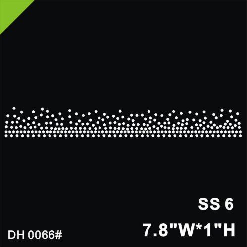 Free shipping New arrival hot fix rhinestone for skirt Heat transfer rhinestone motif Garment accessories Hotfix rhinestone for d DH0066#