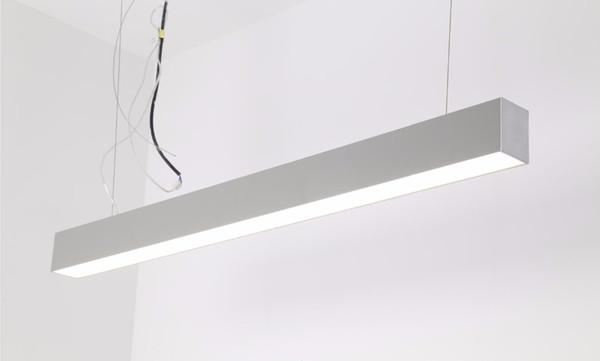 Freies Aluminiumprofil des hohen Lumens des Verschiffens 150cm 50w führte lineares Kanalbeleuchtungssystem geführten linearen Lichtschlauch mit Kabel