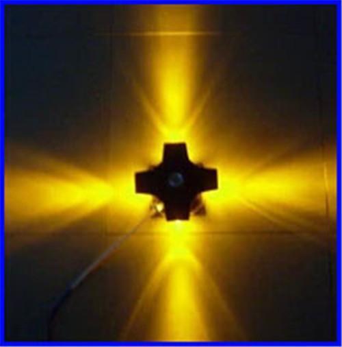 Lampada da parete a 4 luci a LED da 4W a LED per esterni