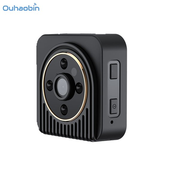 Ouhaobin Mini DV Camera Wearable Full HD Car Sports Cam Popular IR Night Vision Camcorders DVR Video Recorder Camera Oct27