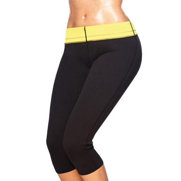 Gym Fitness Hot Body Shapers Short Pants Sport Protector Yoga Slimming Neoprene Tummy Control Leggings Gear For Women S-3XL