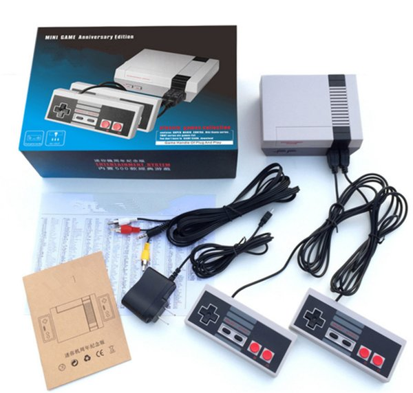 top popular 2018 New Arrival Mini TV can store 620 Game Console Video Handheld for NES games consoles with retail boxs 2019