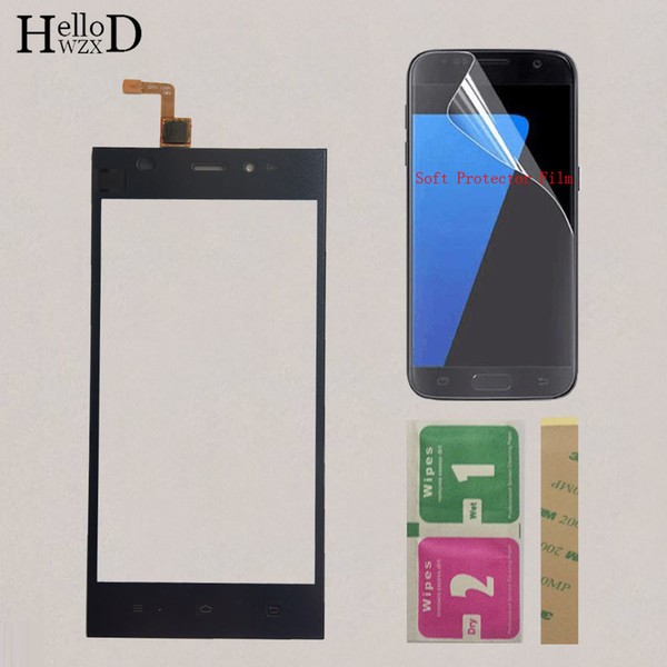 5'' Mobile Front Glass Touch Screen For Xiaomi Mi3 M3 Mi 3 Touch Screen Glass Digitizer Panel Sensor Repair Parts Protector Film