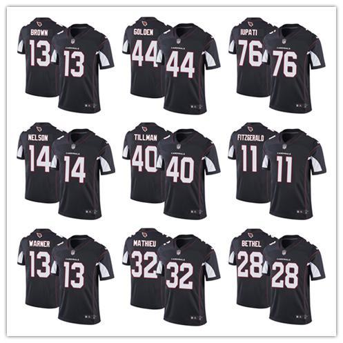 26b8a8b28 Best quality Arizona Jersey Cardinals 11 Larry Fitzgerald 3 Josh Rosen 13  Kurt Warner 31 David