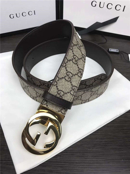2018 (with Box)2017 Fashion Design Pin Buckle Snake Animal Pattern Belts High Quality Designer Luxury Belt for Men And Women Genuine Leather
