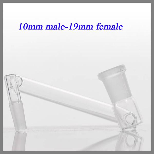 Vetro Dropdown Vendita calda sei dimensioni da femmina a vetro maschio Adattatori ROD Connecte adattatore per tubo di vetro acqua spedizione gratuita