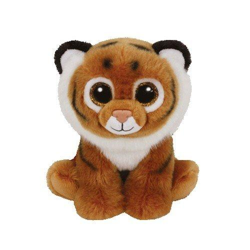 """6"""" 15cm Tiggs the Brown Tiger Plush Regular Stuffed Animal Collection Soft Doll Toy"""