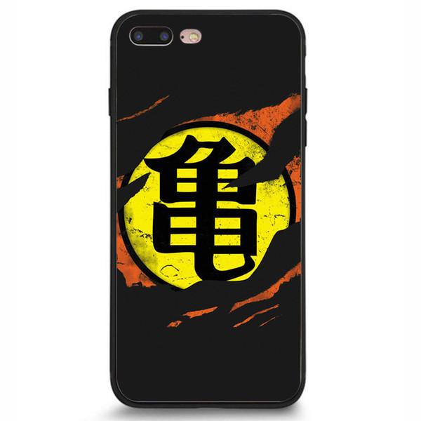 New Dragon Ball Z Goku Phone Case For Iphone 5c 5s 6s 6plus 6splus 7 7plus Samsung Galaxy S5 S6 S6ep S7 S7ep