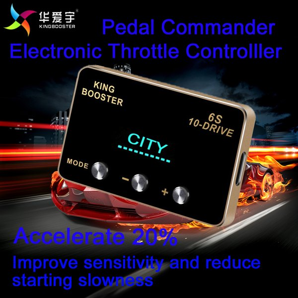 Car Accessories Plug And Play Pedal Commander Electronic Throttle  Controller Accelerator For TOYOTA HILUX 2005 8+ Motor Turbocharger  Motorcycle