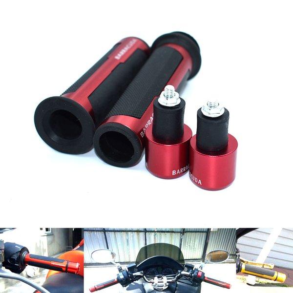For 7/8 '' Motorcycle handle bar Caps / CNC Universal Handlebar Grip 22mm for Honda CBR600RR CBR1000RR F3 F4 F5 CBR600 RC51