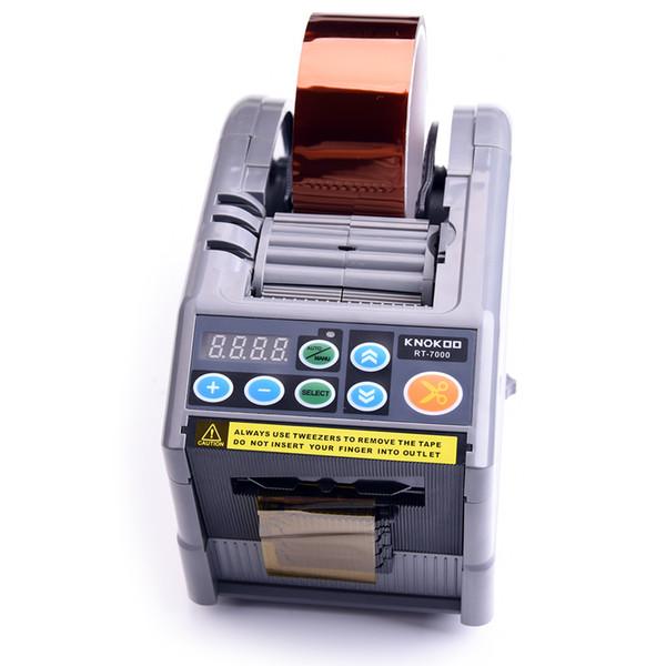 top popular Hot Sale Auto Tape Dispenser RT-7000 6-60mm Automatic Electric Adhesive Tape Cutting Machine Dispenser 2021