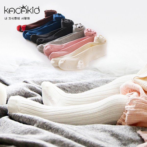 Newborn Girl Tights Warm Soft 6 colors Popular Baby Pants Baby Girls Cotton Leggings Spring Autumn Pants Wear Childrens Leggings & Tights