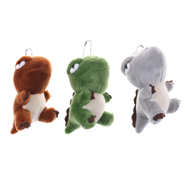 Cute Dinosaur Plush Toys Bag Backpack Pendant Keychain Stuffed Animals Kids Toys for Children Birthday Gift Doll 10cm Whosesale
