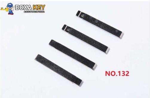New (5pcs) NO.132 Folding Flip Remote Car Key Blank For SGMW WuLing Uncut Blade