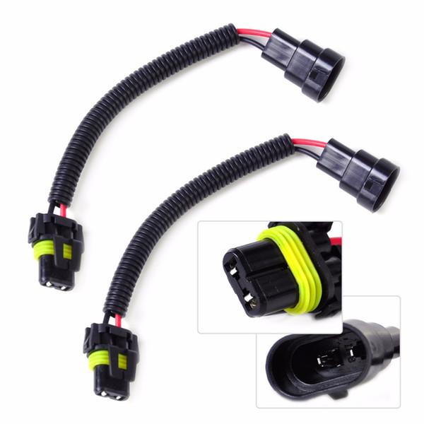 2019 Wire Harness Connectors DWCX 2x Car PVC Plastic Nylon Extension A Wiring Harness Connectors on