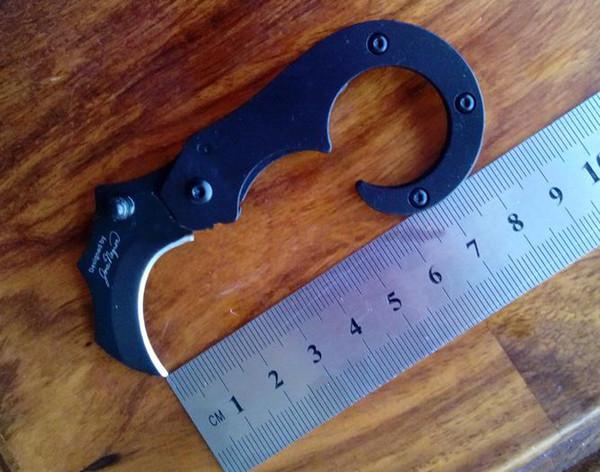 Venta al por mayor MTech Garra Cuchillo Plegable Cuchillo de bolsillo Sea Horse Forma especial que acampa Cuchillos de caza Cuchillos de supervivencia tácticos Cuchillo plegable