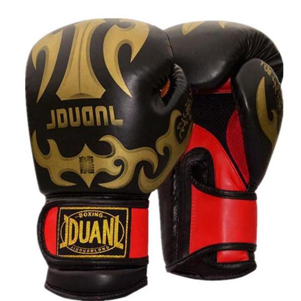 ORIGINAL 3 farben 10 unze mateial hochwertige atmungsaktive männliche fitness boxhandschuhe muay thai für erwachsene