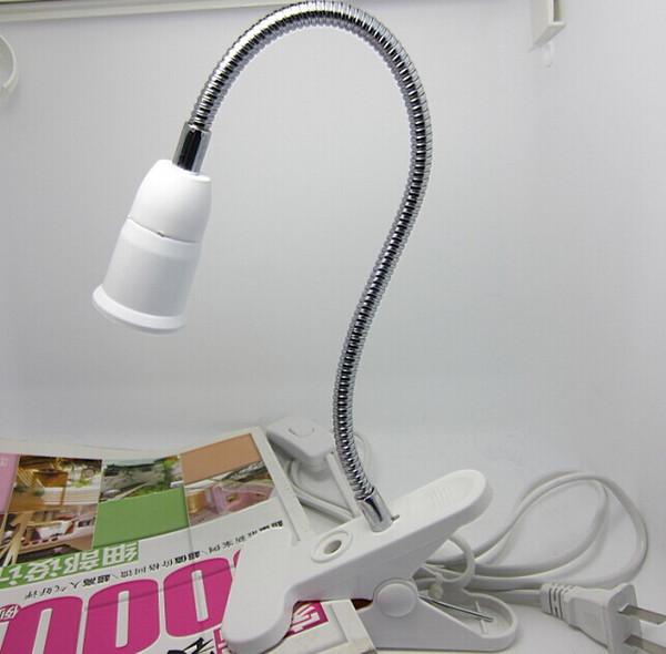 E27 Supporto per lampada da tavolo E27 Base per clip da tavolo con interruttore ON / OFF da 1,8 m Flessibile per tornitura universale