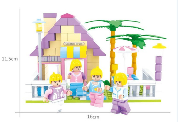 House Building Blocks Brick Educational Toy Birthday Gift Toys for Kids DIY Toy Compatible All Brand Children Models Toy