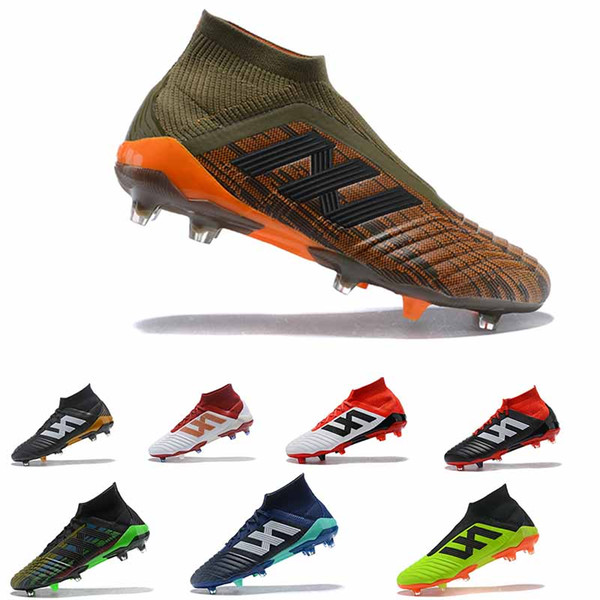 2018 Soccer Cleats Mercurial Superfly Predator 18+x Pogba FG Accelerator DB Soccer Shoes High Ankle Cristiano Ronaldo Mens Football Boots clearance latest collections voNg4WIu