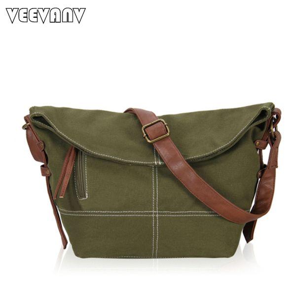 2017 Fashion Postman Bags Vintage Men Messenger Bags Shoulder Briefcase High Quality Canvas Travel School Crossbody Women