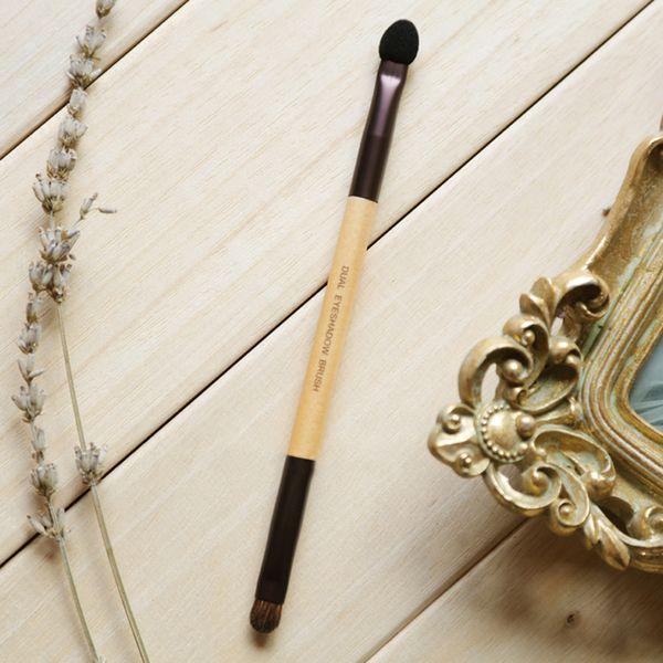 Korea Brand Top quality innisfree Eyeshadow brush With Sponge head Brushmakeup eyebrow contour brush DHL free ship