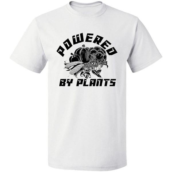 Desarrollado por Plants T-shirt Mens Ladies Unisex Fit Camisa divertida Envío gratis S - 3xl Blanco O cuello algodón camiseta Verano