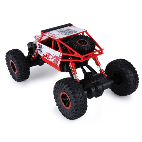 New Design Rc Car 4wd 2 .4ghz Rc Car Toys Rally Climbing Car 4x4 Double Motors Bigfoot Remote Control Model Off -Road Vehicle