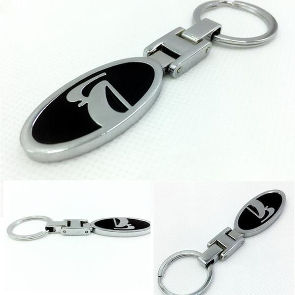 metal car keychain turbo keychain pendant Good quality Key ring