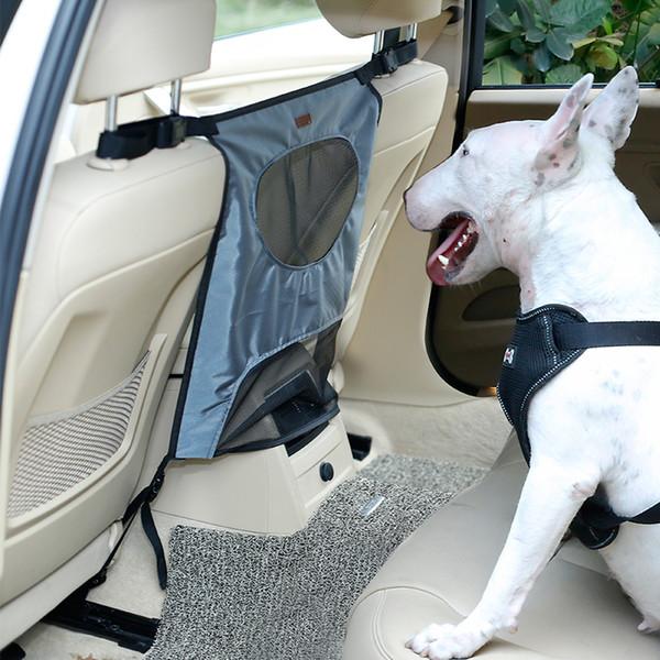 Animali domestici Barriera Seggiolino auto Accessorio di protezione Seggiolino auto Rete Net Schermatura di uscita in uscita Sedile posteriore Sicurezza cani OOA5072