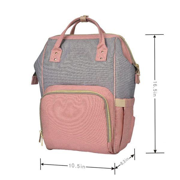 New Mummy Bag Multi-Function Grande capacità Materna Child Package Pacchetto incinta Materna per bambini Forniture a quattro pezzi HYJ2