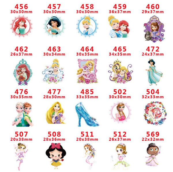 free shipping 1000pcs Cute Cartoon Girl Flat back Planar Resins Cabochon DIY Craft Embellishments For Home Decoration hair A