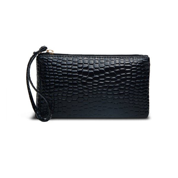 New Ladies Wallet Alligator High Quality PU Famous Brands Designer 2018 Bags For Women Wallet And Purses Coin bolsa feminina