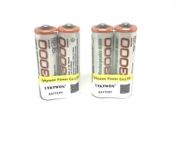 atteries Rechargeable Batteries 8pcs/lot Excellent G&P AA 3000mAh 1.2V Rechargeable Ni-MH Battery for Flashlight Laser pen Digital ca...