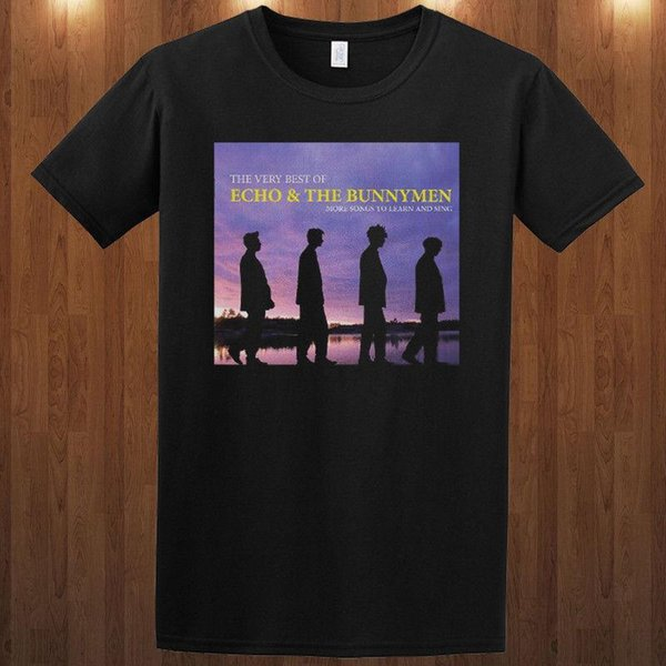 Echo & the Bunnymen tee T-Shirt rock band S M L XL 2XL 3XL Ian McCulloch