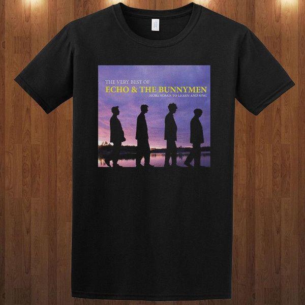 Bunnymen tişörtünü Echo T-Shirt rock grubu S M L XL 2XL 3XL Ian McCulloch