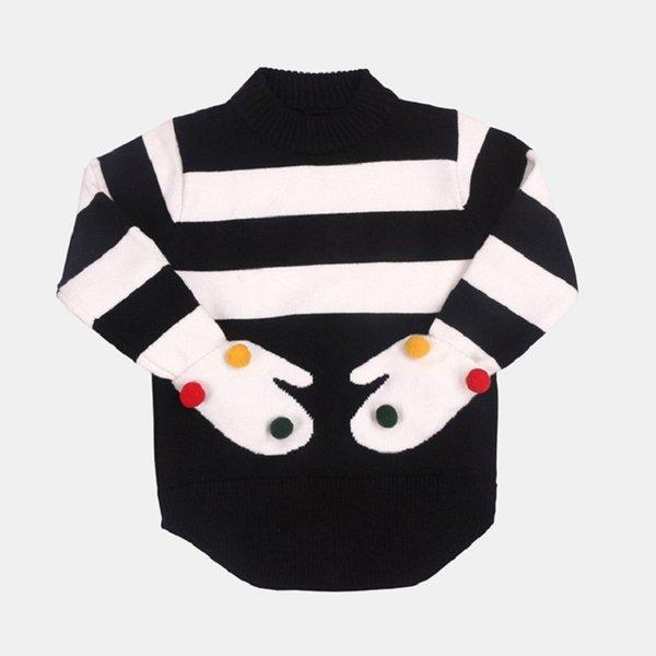 Compre Ropa Para Niños O Cuello Cálido Suéter De Otoño Invierno De ...