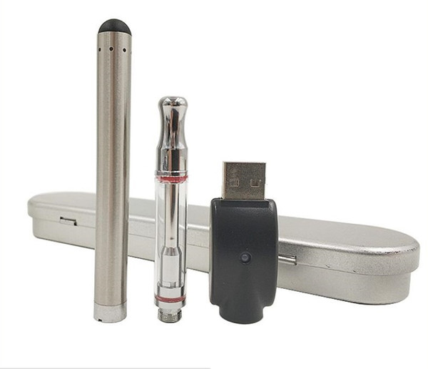 BUD Touch CE3 Cartridge metal Box Kit 280mAh Battery O Pen Oil Atomizer for E Cigarette Cigs Kits