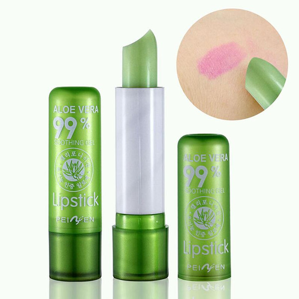 Magic Lip Balm Temperature Change Color Lipstick Moisturizing Waterproof Anti-aging Protection Fruit Aloe Vera Lipstick Free Shipping