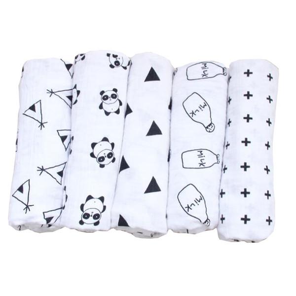 fashion design pure cotton newborn swaddle blanket baby car seat blanket cover up nursing blanket wrap