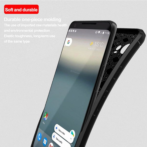 For LG V35 V35ThinQ G7 ThinQ X20 2018 Q Stylus Q Stylus Alpha Stloy 4 Mobile SComfortable Texture Soft TPU Silicone Back Cover