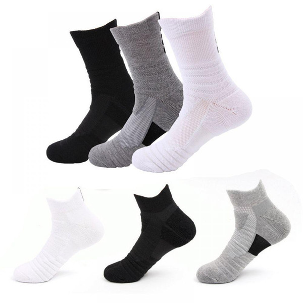 Hiking Camping Sport MTB Mountain Socks Professional Men Cycling Basketball Outdoor Socks Quality Non-slip Running Sweat